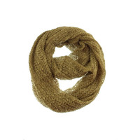 Collection Eighteen Womens Knit Solid Infinity Scarf