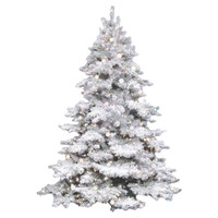 "Pre-Lit 54"" Faux Alaskan Evergreen Tree"