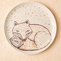 Plum & Bow Cozy Critter Plate