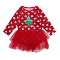 baby girl clothes romper baby clothes Christmas rompers newborn Overalls for children for newborns Baby Clothing YX001