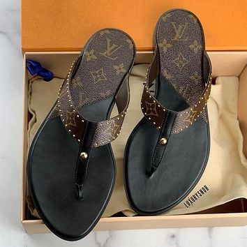 LV flip flop new slippers