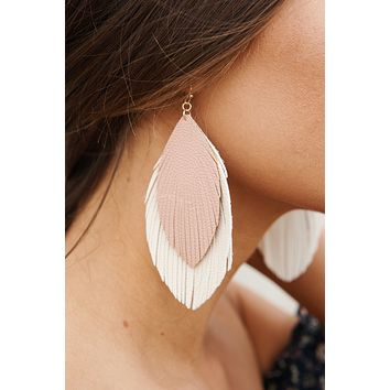 Always A Thrill Drop Earrings (Ivory)