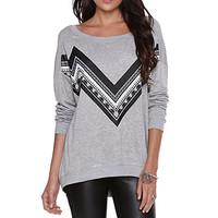 Kendall and Kylie Dropped Shoulder Hi Low Fleece at PacSun.com