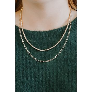 Never Missed Necklace - Gold
