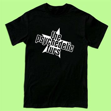 The Psychedelic Furs Rock Band Logo Men's T Shirt Black White S 2XL 3XL b free shipping funny tops Tee Shirt|T-Shirts