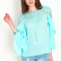 Tiered Dreamweaver Blouse - LoveCulture