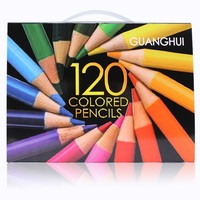 Professional 120 Colored Pencils set Lapis De Cor Professionals Artist Painting Oil Color Pencil For Drawing Sketch art Supplies