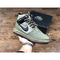 Nike Lunar Force 1 Duckboot green Sport Shoe Size 40-47