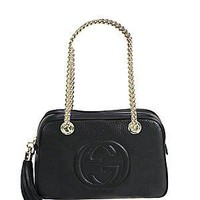 Gucci Soho Leather Shoulder Bag