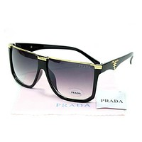 Prada Women Casual Popular Summer Sun Shades Eyeglasses Glasses Sunglasses-11