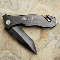 Survivor Personalized Lock-back Knife