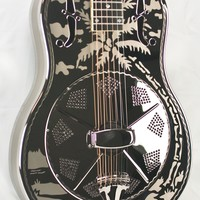 """National Style """"O"""" Deluxe Resophonic Guitar #20836"""