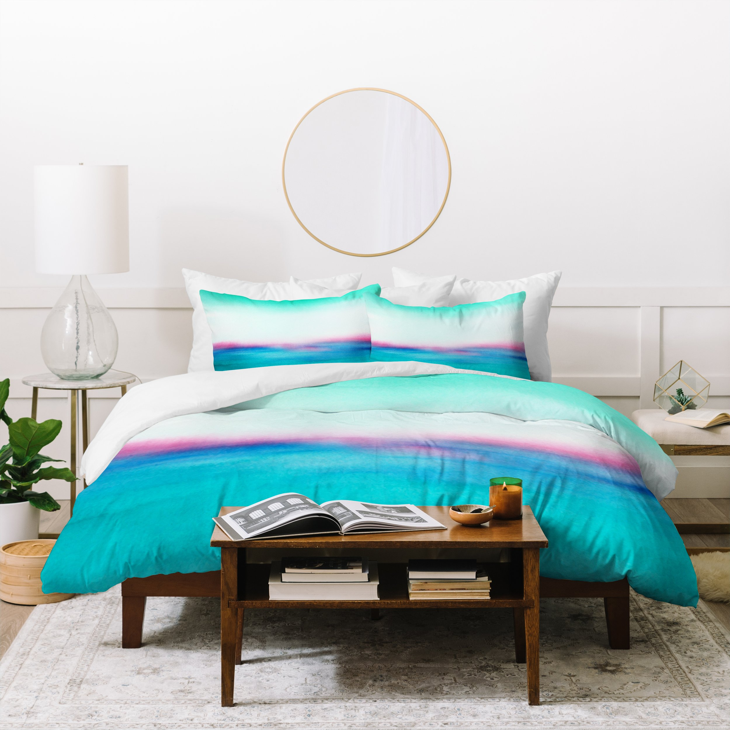 Image of Laura Trevey In Your Dreams Duvet Cover