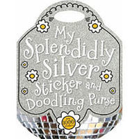 Silver Sticker Doodle Book