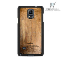 Grunge Wood Print For Samsung Galaxy Note 3 | 4 Case