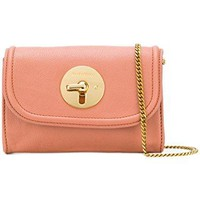 See By Chloé Women's CHS17AS917295NR26W Pink Leather Shoulder Bag