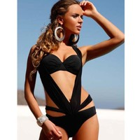 New Arrival Swimsuit Hot Summer Bandages Sexy Swimwear Beach Bikini [6533314887]