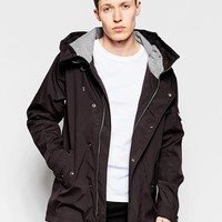 Bellfield Hooded Jacket with Flannel Lined Hood