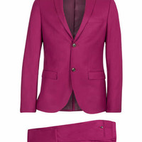 Raspberry Ultra Skinny Suit - Skinny Fit Suits - Suits - TOPMAN