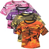 Rothco Womens Camouflage Crop Top
