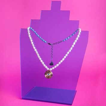 Pearl Eyes on Me Necklace