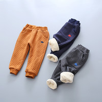 New Kids Pants Boys Warm Casual Pants toddler Girls Winter Harem Pants Children Fashion Trousers baby clothes autumn style