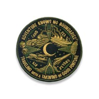 Lucky Travel Patch - Adventure Knows No Boundries