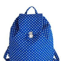 Park Bench Backpack in Dots