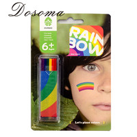 Face Body Halloween Painting Oil Toy Painting Art Drawing Toys Party Cosmetic Tool Set Toy Fancy Dress Rainbow Makeup Puzzle TOY