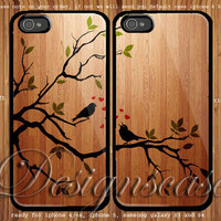 Birds Song Cute Couple case for iphone case,ipod Touch case, samsung Galaxy case, xperia case, HTC Cases available rubber Plastic case