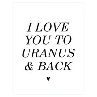 To Uranus And Back Card