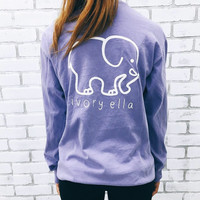 Pocketed Lavender Classic Print
