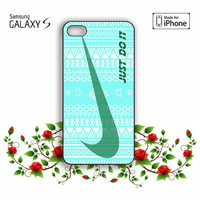 Nike Just Do it aztec pattern iPhone 5, 5s, 5C, 4, 4S , Samsung Galaxy S3, S4, S5 , iPod Touch 4 / 5 Case