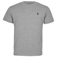 Polo Ralph Lauren Men Classic Fit Crew Neck Pony Logo T-shirt (Small, Delta Blue)