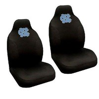 North Carolina Tar Heels  Set of 2 Embroidered Seat Covers