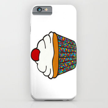 Let Them Eat Cupcake iPhone & iPod Case by Sfhegarty
