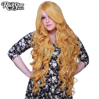 "Cosplay Wigs USA™  Curly 90cm/36"" - Golden Blonde -00325"