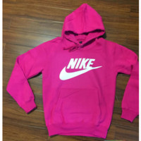 """NIKE"" Women Fashion Hooded Top Pullover Sweater Sweatshirt Roses"