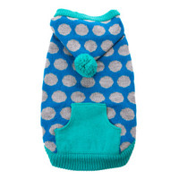 Top Paw™ Big Dot Hooded Sweater