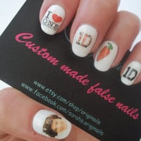 31 One direction nail stickers by originails on Etsy