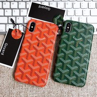 Goyard Tide iPhone Case