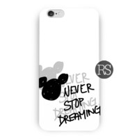 Disney Mickey Mouse Never Stop Dreaming For iPhone 6 / 6 Plus Case