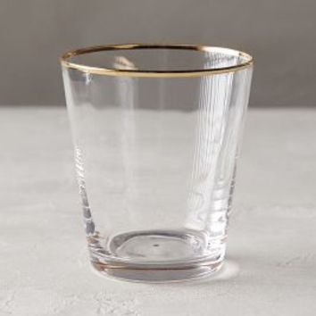 Sparkle-Trimmed Tumbler by Anthropologie