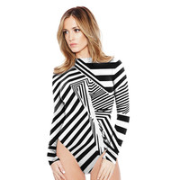 Sexy Women Camouflage Butterfly Print Playsuit Casual Vintage Short Rompers Long Sleeve Woman Jumpsuit Plus Size XL SM6
