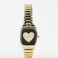 Urban Outfitters - Heart Stretch Watch
