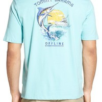 Tommy Bahama 'Offline' Graphic Crewneck T-Shirt (Big & Tall) | Nordstrom