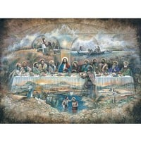 Bits and Pieces Last Supper Religious Jigsaw Puzzle - Puzzle Haven