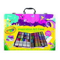 Inspiration Art Case-Pink, Inspiration Art Pink CasePink 140 Case Pieces By Crayola - Walmart.com