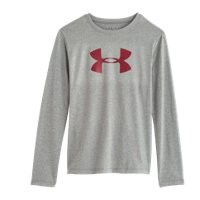 Under Armour Girls' UA Tech Big Logo Long Sleeve