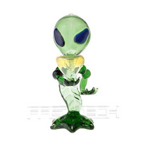 Extraterrestrial Styled Glass Smoking Filter Shisha Hookah Water Pipe